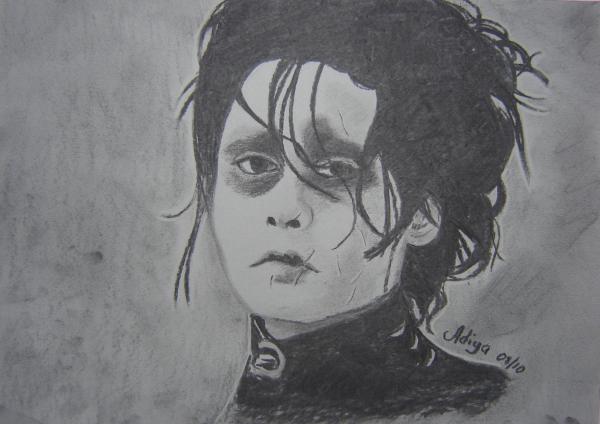 Johnny Depp by Adiya